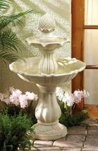 35144 SHIPS FREE Cascading Fountains Acorn Three Tier Water Fountain - $193.44