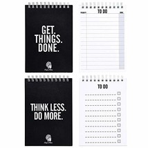 CHIEFS & TRIBES To Do List Double Pack I Notebooks with total 100 tear o... - $19.77 CAD