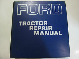 1960s 1970s Ford Tractor Service Repair Shop Manual Factory FEO Book Used Rare - $195.96