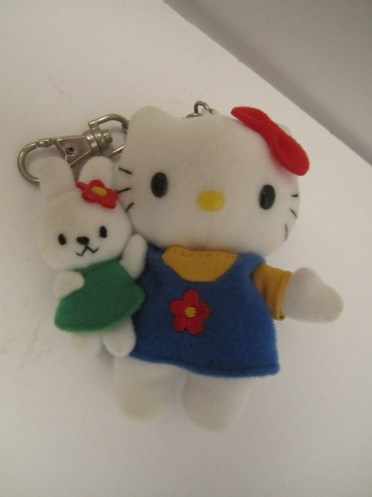 CUTE Trio of Small Plush Hello Kitty Sanrio Stuffed Cat Animal Toys NM Pre-Owned image 4
