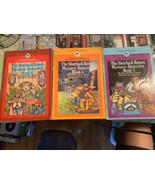 The Sherluck Bones Mystery-Detective Books #1:5:6 A Bantam-Skylark book - $19.79