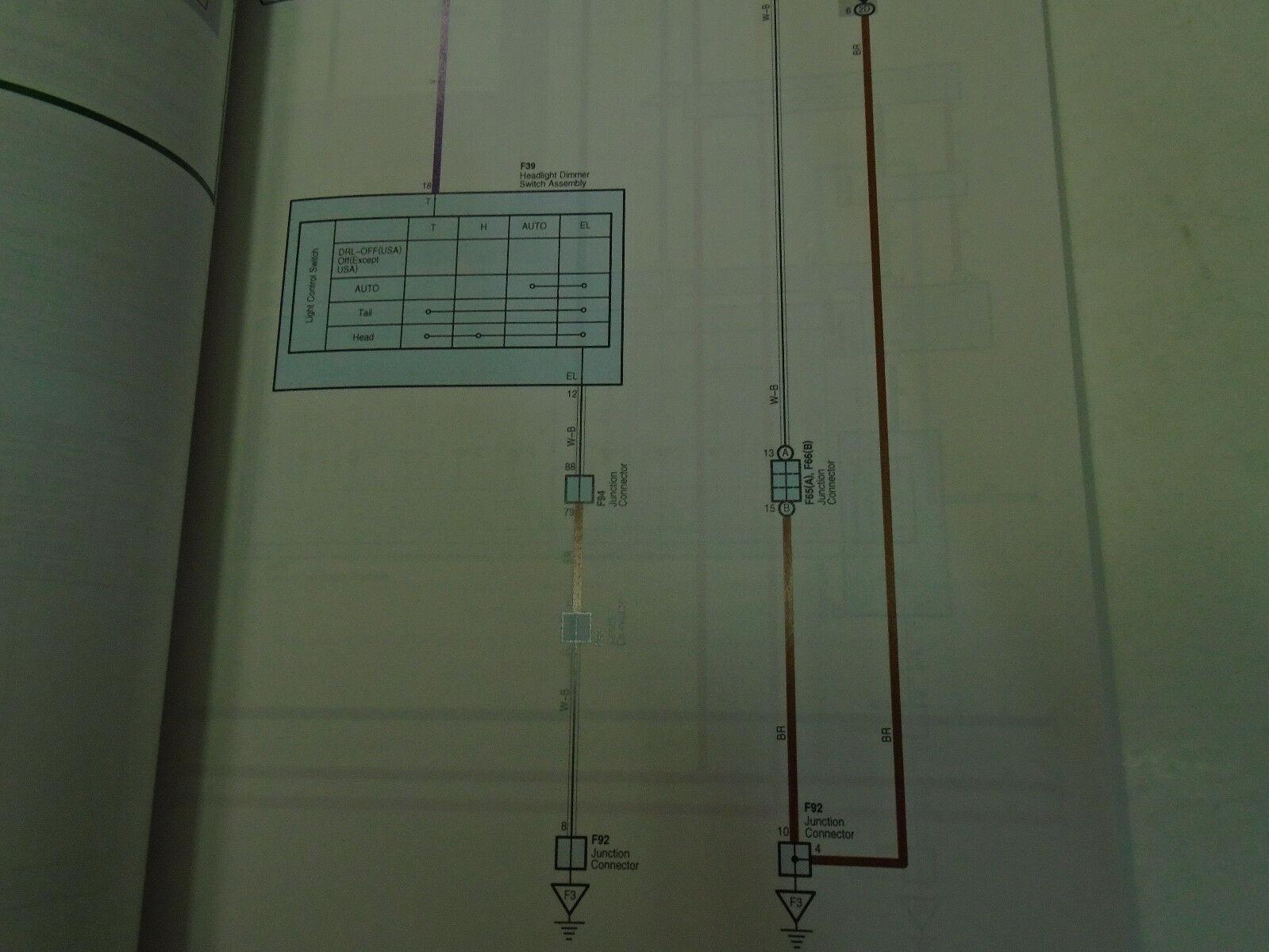 2011 Lexus RX350 Rx 350 Elektrisch Wiring Service Shop Reparatur Manuell Ewd image 3