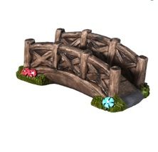 "Fairy Garden Bridge Miniature Accessory 3.5"" polyresin - $12.99"