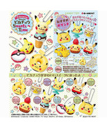 Re-Ment Pokemon Pikachu Sweets Time Mini Figure Keychain Collection Comp... - $69.90