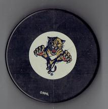 NHL Florida Panthers souvenir Hockey PUCK Inglasco - $23.38