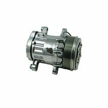 A-Team Performance HC5005C A/C Compressor Chromed Sanden SD-7 Type Aluminum