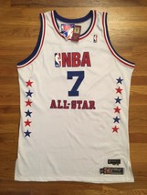 NBA All-Star 2003 Indiana Pacers Jermaine O'Neal Pro Cut Jersey 52+4 gam... - $799.99