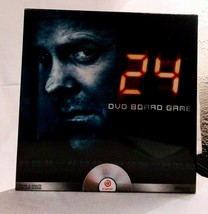 24 TV Series DVD Board Game Parker Brothers JACK BAUER New Factory Seale... - £9.65 GBP