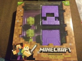 Minecraft Survival Mode Spinning Shulker Series 4 Action Figure Ages 6+ ... - $25.99