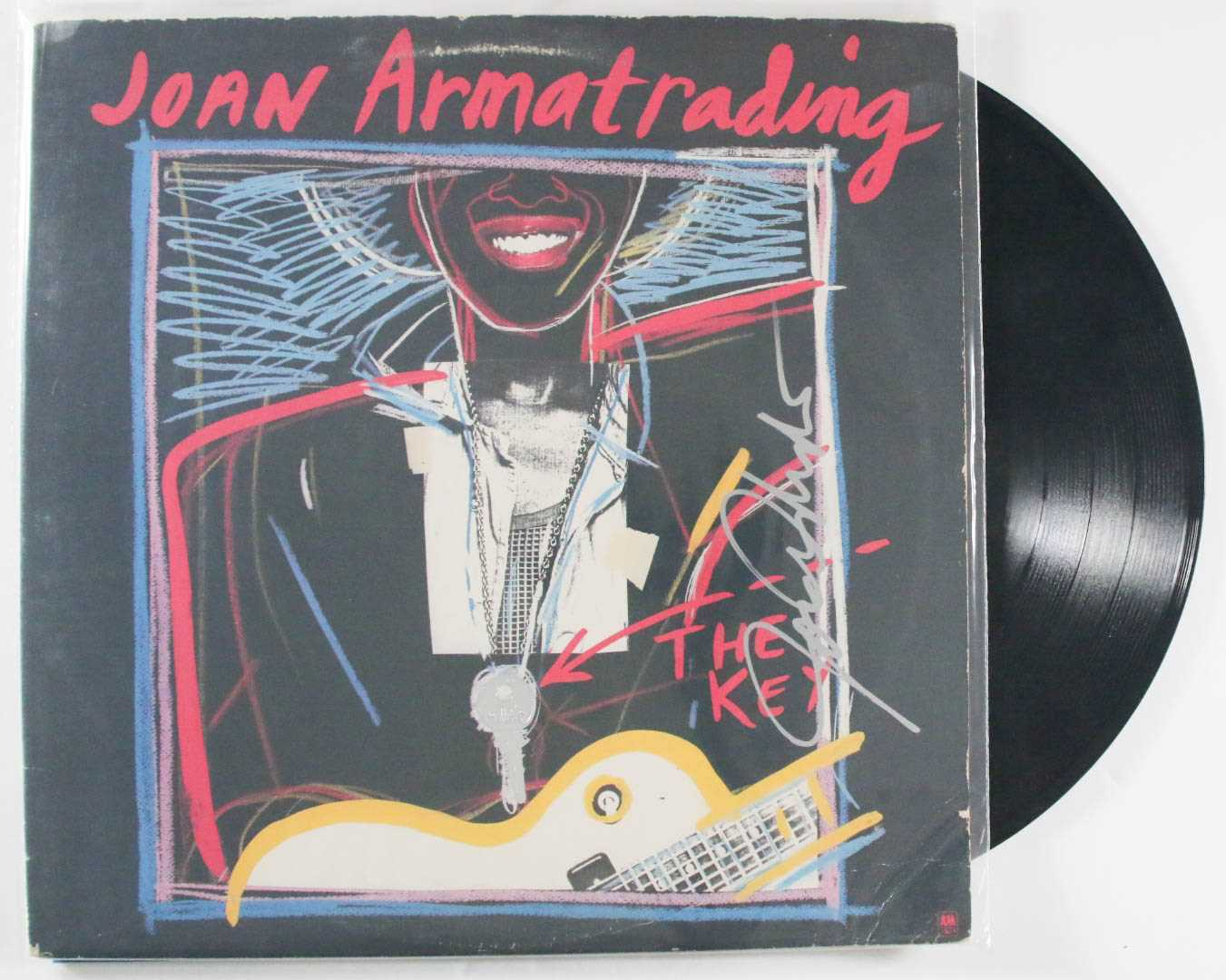 "Primary image for Joan Armatrading Signed Autographed ""The Key"" Record Album"