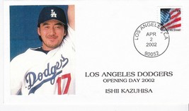 LOS ANGELES DODGERS OPENING DAY ISHII KAZUHISA LOS ANGELES CA APR 2 2002 - $1.98