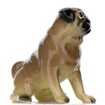 Hagen Renaker Dog Pug Mama Tan Ceramic Figurine image 8