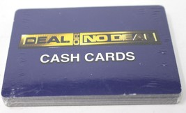 Cardinal  Deal or No Deal replacement Cash cards New Sealed - $5.89