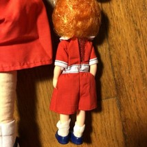 VTG 2 Original Little Orphan ANNIE Doll Lot Plush Dog Knickerbocker 70s 80s - $19.99
