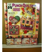 1994 Punch Quilting, Jean Kievlan 21 No-sew projects 4 Easy Steps 2451 B... - $8.99