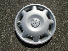One genuine 1993 to 1997 Volkswagen Jetta Golf hubcap wheel cover used - $23.03