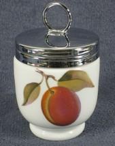 """Royal Worcester Evesham Gold Egg Coddler Single Size 2 1/2"""" with Lid Por... - $21.95"""