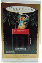 Hallmark Keepsake Ornament - Magic Messages of Christmas Recorder - New - $14.20