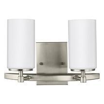 Sea Gull Lighting 4424602-962 Alturas Contemporary Two Light Wall/Bath V... - $131.24