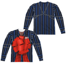 Christmas Vacation Movie FRANK SHIRLEY Bow Costume Long Sleeve Poly T-Shirt - $122.80
