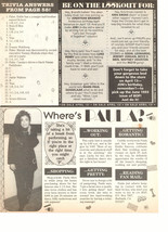 Paula Abdul teen magazine pinup clipping where's Paula 90's