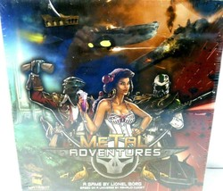 Metal Adventures Board Game Asmodee by Lionel Borg Sealed! - $16.91