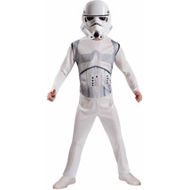 Rubies Star Wars Stormtrooper Jumpsuit Halloween Costume With Mask Small... - $21.73