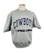 Vintage Russell NFL Pro Line Dallas Cowboys Sweatshirt Mens Large Short ... - $28.99
