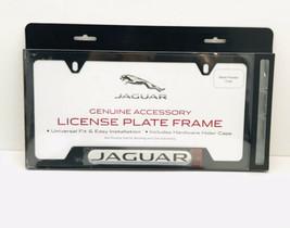 Genuine OEM Jaguar Black Powder Coated License Plate Frame - C2A1175 NEW - $27.72