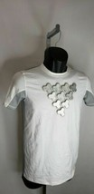 T-Shirt Heat Gear  Under Armour Youth  XL White and Grey  New with tags - $14.84