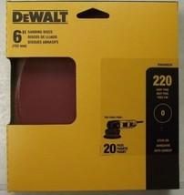 """Dewalt DWAS60220 6"""" x 220 Grit PSA No Hole Sanding Discs 20 Pack - $2.97"""