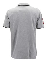 NEW US POLO ASSN MEN'S PREMIUM ATHLETIC CLASSIC COTTON GOLF SHIRT T-SHIRT GRAY image 2