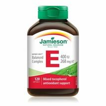 Jamieson 120 Softgels Vitamin E 400 iu / Super Antioxidant Support- FRES... - $11.83