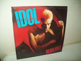 Billy Idol rebel yell Vinyl Record Album 1983 Chrysalis NM - $14.85