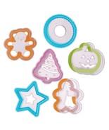 Progressive International 12 Piece Holiday Cookie Cutter and Stencil Set... - $7.69