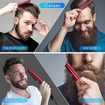 Beard Straightener Brush Comb for Men, Ergonomic Beard Brush Straightening Elect image 2