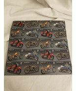 American Motorcycles Collectible Stamp Sheet Scott 4085-88 - $14.80