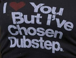 I Love You But I'Ve Choisi Dubstep Femmes Noir Débardeur Chemise image 2