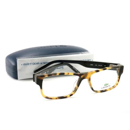 838eae04a0 12. 12. Previous. Lacoste Eyeglasses L2660 218 Yellow Havana 53 15 140 Demo  Lens · Lacoste Eyeglasses ...