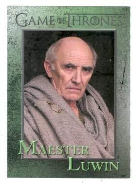 Game of Thrones trading card #63 2012 Maester Luwin