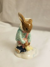 Royal Doulton Bunnykins Figurine - Girl Skater - DB153 - $23.22