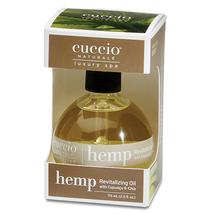 Cuccio Naturale Hemp Revitalizing Oil, 2.5 oz