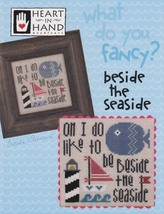 Fancy: Bedside the Seaside cross stitch chart Heart in Hand - $7.20