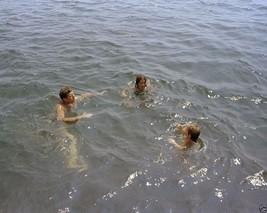 President John F. Kennedy swims with Caroline and niece 1963 New 8x10 Photo - $6.61