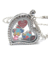 Heart Charm Locket for Autism - $15.00