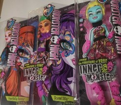 Monster High 3 Add on Packs Fearfully Feisty Spooky Sweet Scared Silly NEW  - $32.08