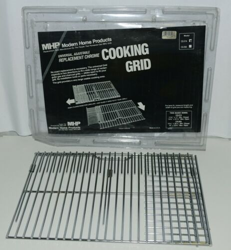 Modern Home Products CG37A Universal Chrome Cooking Grid Color Silver