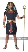 California Costumes Men's 4pc Deluxe Pharaoh Egyptian King Black Tunic C... - $33.95