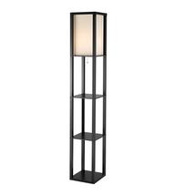 Adesso 3193-01 Titan Floor Lamps 12in Black 1-light - $130.00