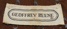 "Mens Geoffery Beene 100% silk Neck Tie 58"" long 3 1/2"" wide #6 Necktie image 4"